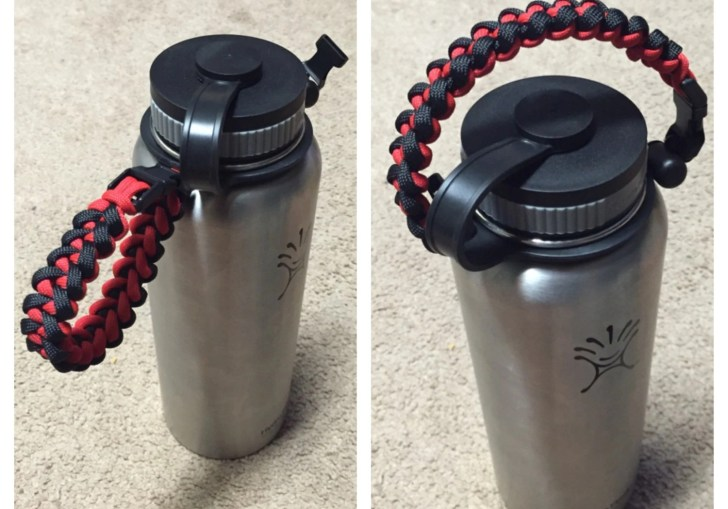How To Make A Paracord Hydroflask Handle