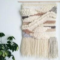 Woven Wall Hanging / Handmade Woven Tapestry / Wall Art