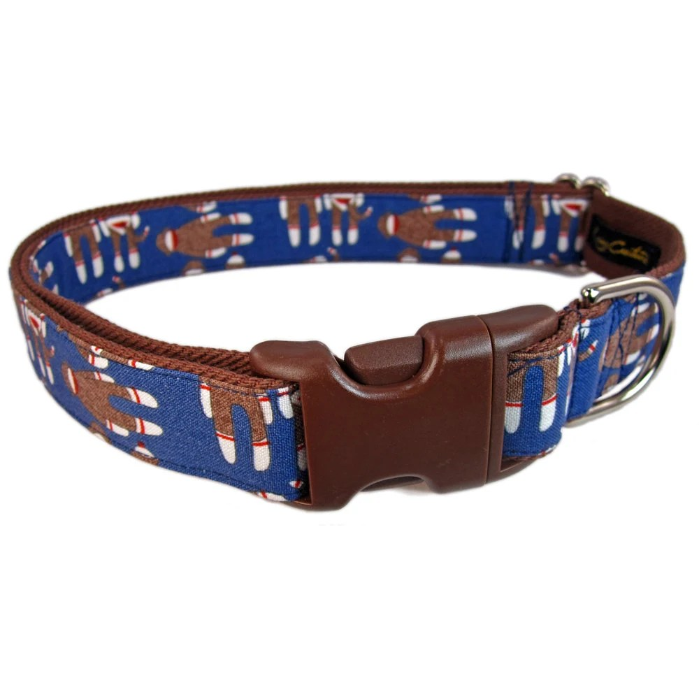 Custom Dog Collars Cute Dog Collar Navy Blue Dog by