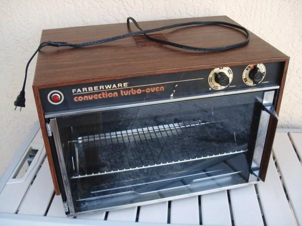 Farberware Convection Turbo Oven Model 460 Shelf Rack Crumbs