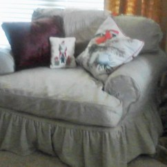 Slip Cover Chair And A Half Office Repair Parts Custom Made Slipcover By Lharmondesign On