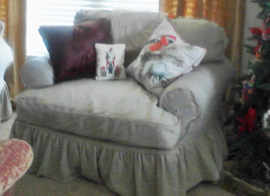 chair and a half slipcovers high with adjustable height custom made slipcover by lharmondesign on