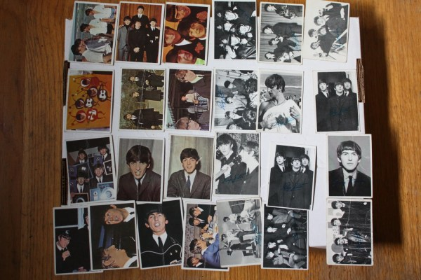 Vintage Lot Of 25 1960 Beatles Cards. Series 2 3