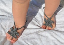 Sandals Star Shaped Barefoot Baby Boy