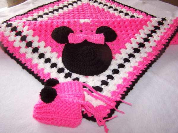 20 Minnie Mouse Crochet Blanket Pattern Free Pictures And Ideas On