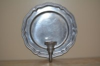 Candle Sconce Pewter Sconce Sconce Candle Holders Vintage