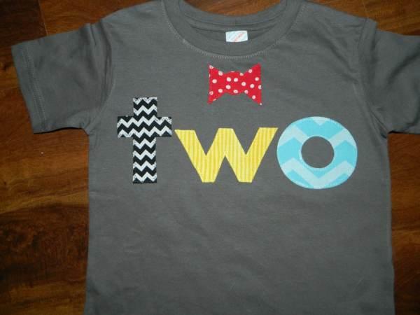 2 Year Old Boy Birthday Shirt Ideas
