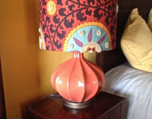 Colorful Tall Lamps