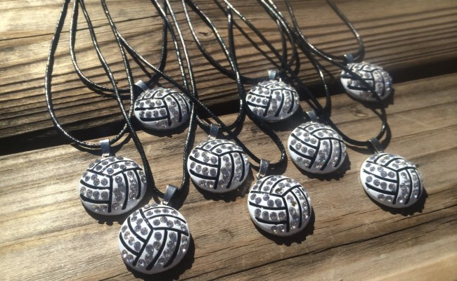 Volleyball Team Gifts Volleyball Jewelry 9 Pendant