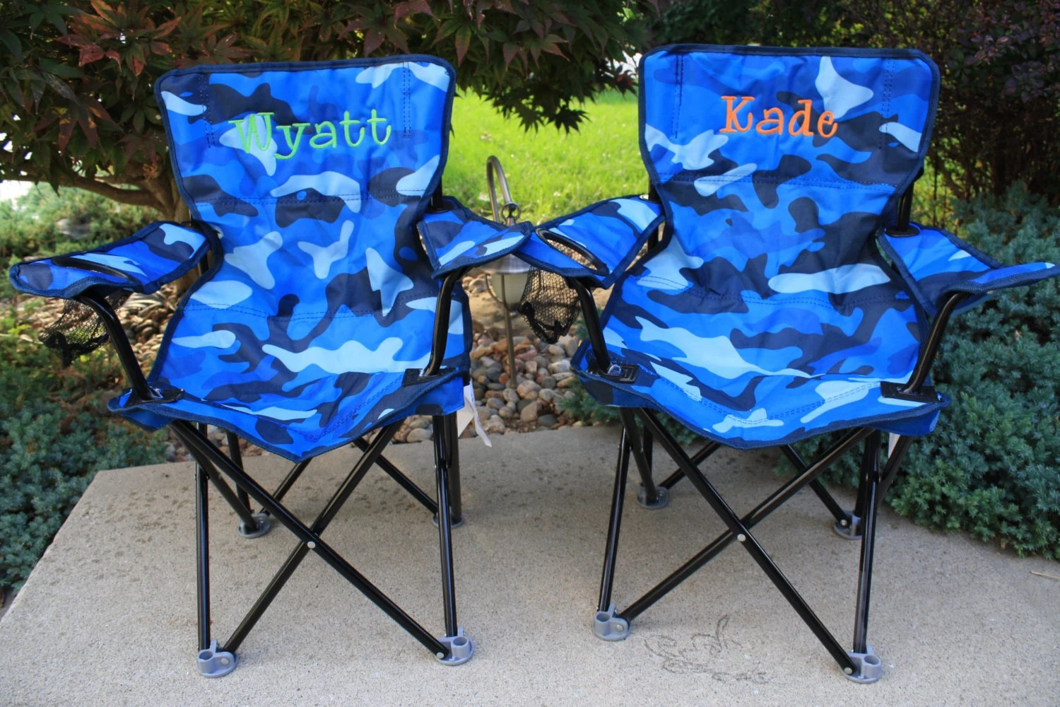 personalized folding chair yoga youtube toddler boy camping
