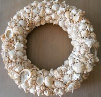 SeaShell Wreath Shell Wreath Beach Decor Beach Wedding