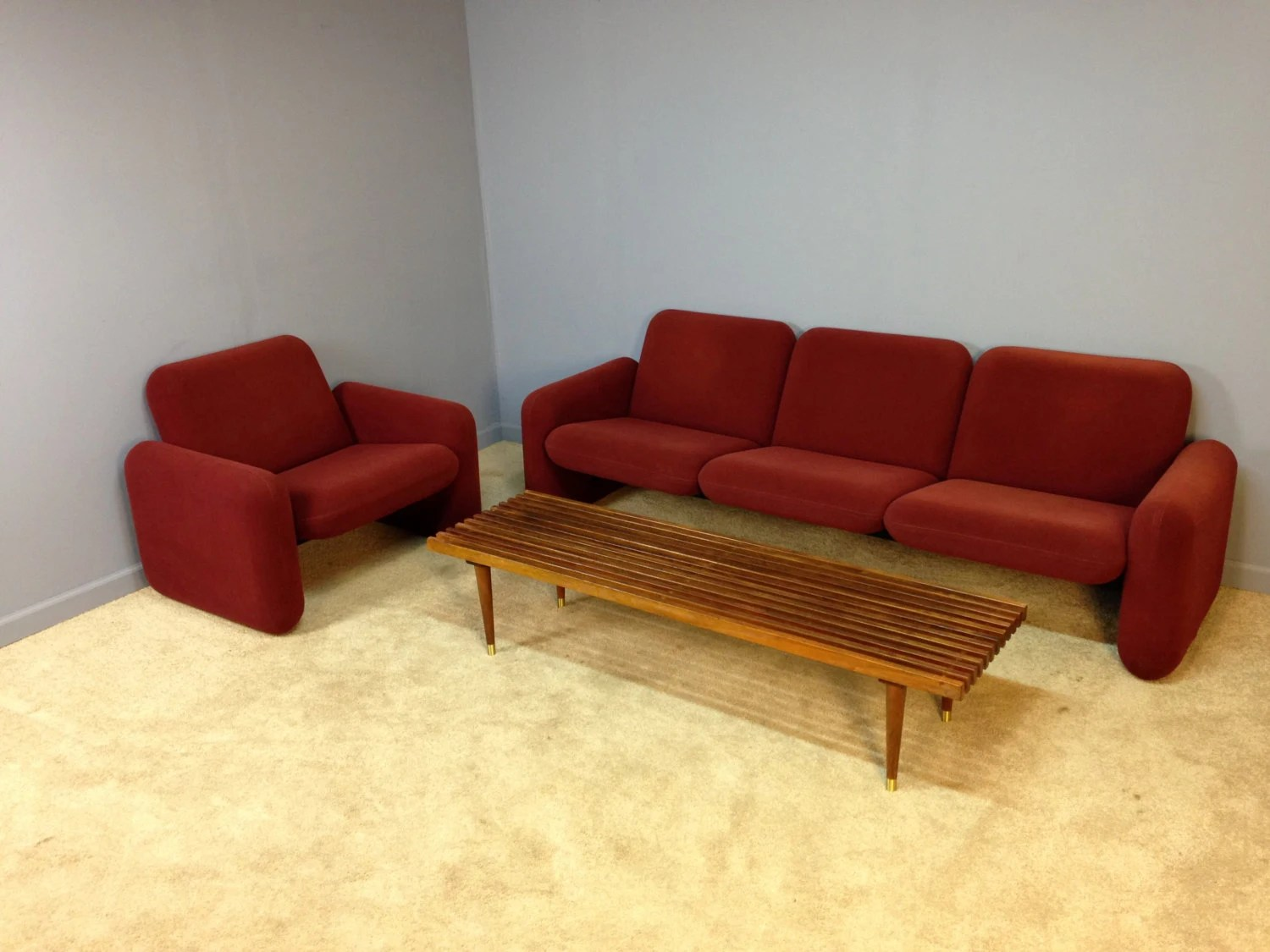 herman miller modular sofa leather shop near me sale price vintage ray wilkes for