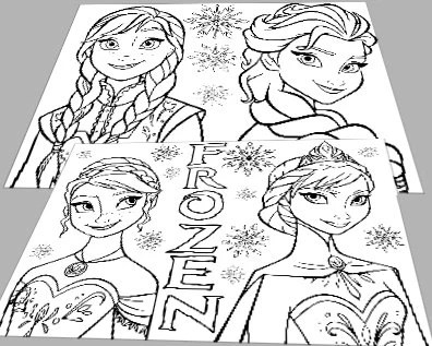Popular items for frozen coloring on Etsy