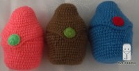 Crocheted baby bottle cover custom made for Tommee Tippee