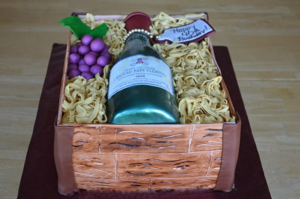 Wine Bottle And Crate Cake Decorating Kit 100 Edible