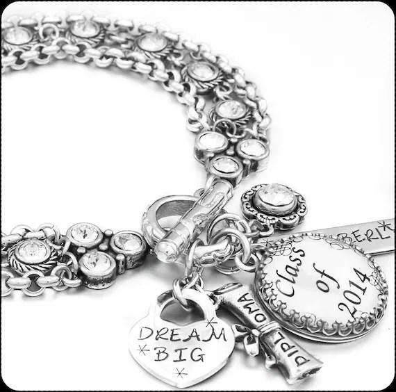 Graduation Jewelry, Gift for Graduate, Graduation Bracelet