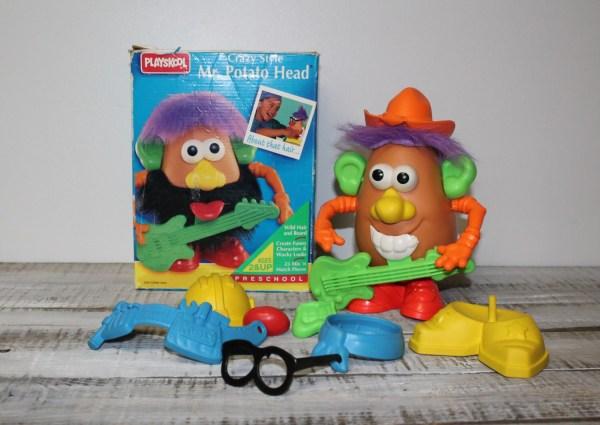 1994 Playskool Crazy Style . Potato Head
