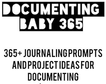 365 Writing Prompts for Pregnancy and Baby's by graceandlight