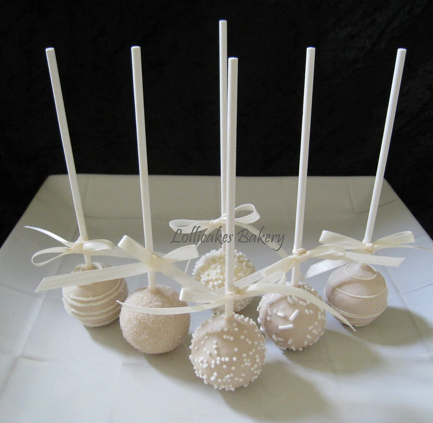 Wedding Favors Wedding Cake Pops Made to Order with High