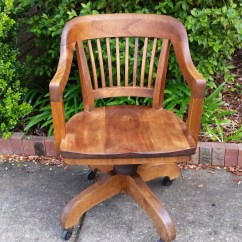 Wh Gunlocke Chair Leather Sitting W.h. Co Office By Tallflowertreasures On Etsy