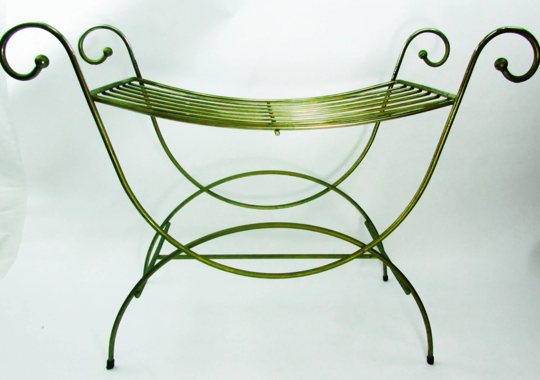 vintage vanity chair canoe mec chairmid century