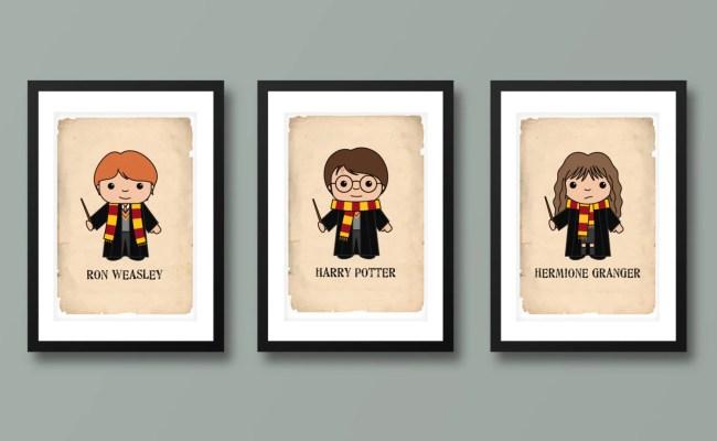 Harry Potter Inspired Wall Art Kids Wall Art Harry Potter