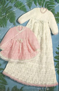 Vintage Heirloom Baby Dress Knitting Pattern from ...