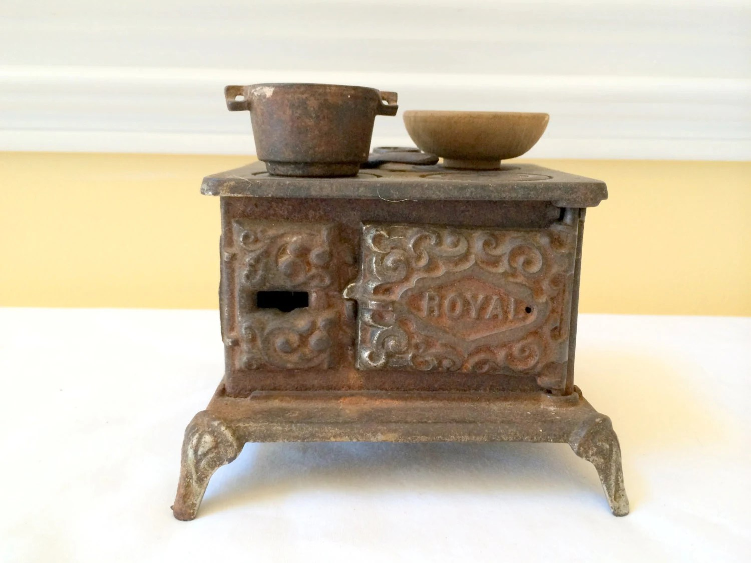 cast iron kitchen stove remodeling a royal miniature cooking with by