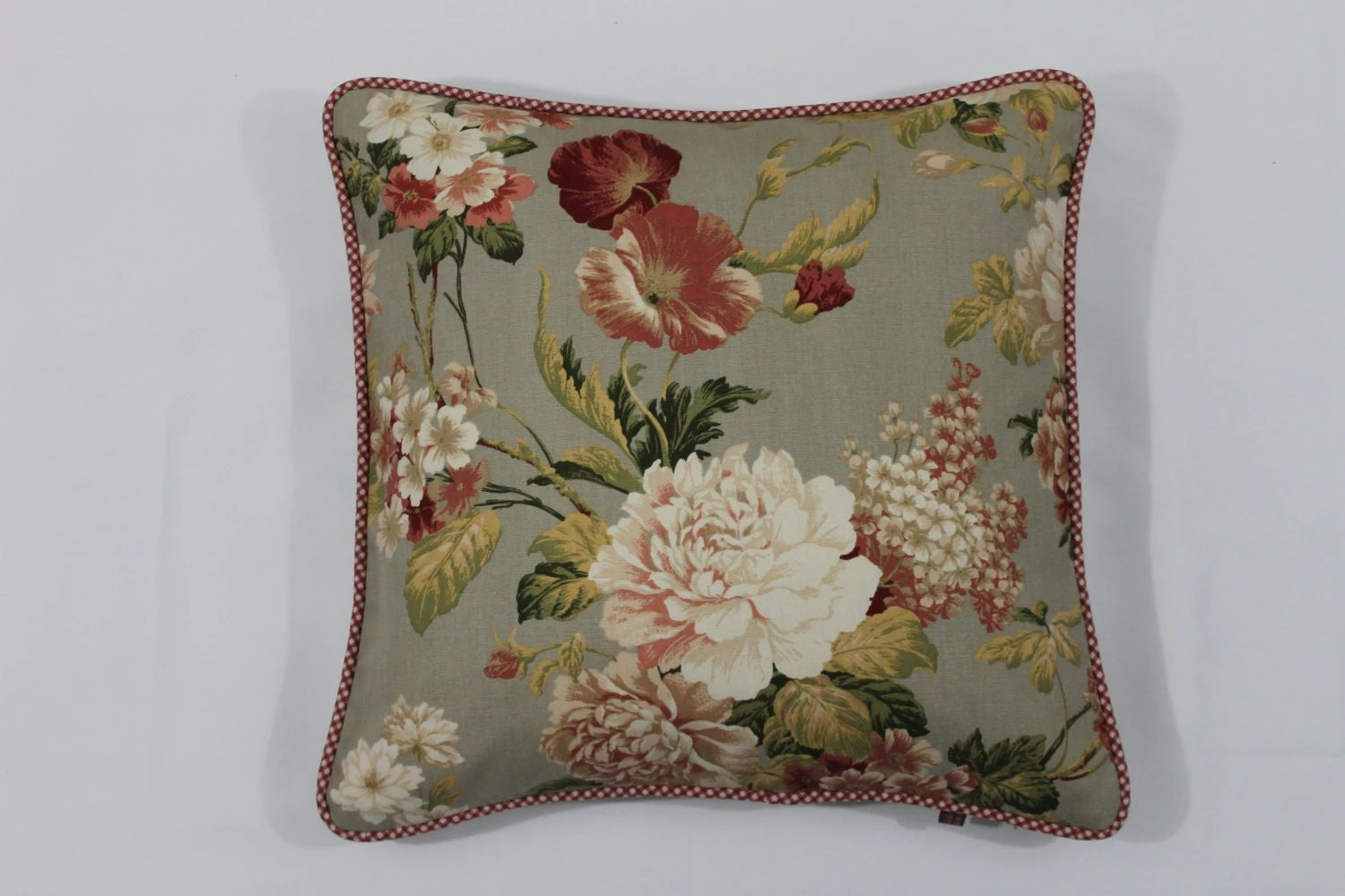 French Country Pillow CoverFloral Pillow Cover16x16 Pillow