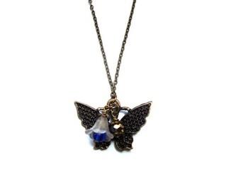 Items similar to Christmasinjuly, Orange necklace ,OOAK