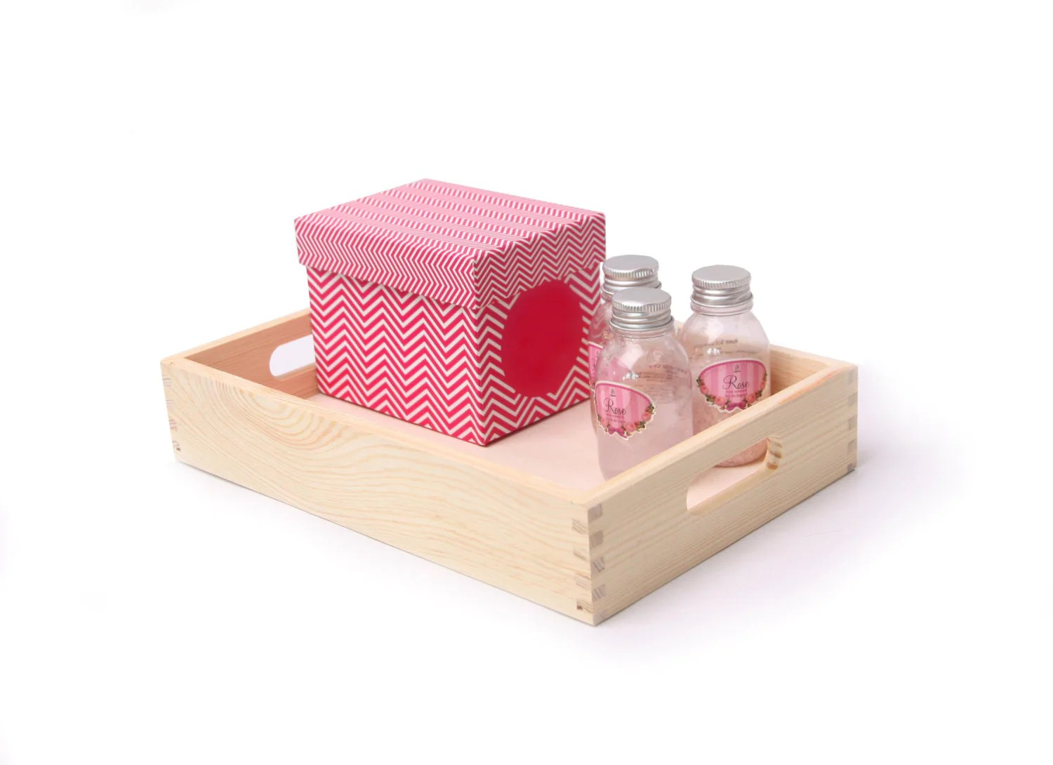 small wooden tray unfinished desk organizer serving tray
