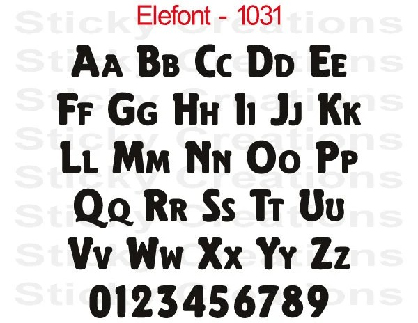 Custom Text Old English Font Customized Personalized Letters