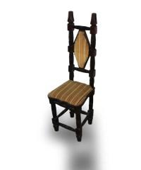 RARE 1920 Antique Jacobean High Back Hall Chair HAND ...
