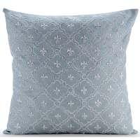 Light Blue Pillow Covers 16x16 Silk Pillow