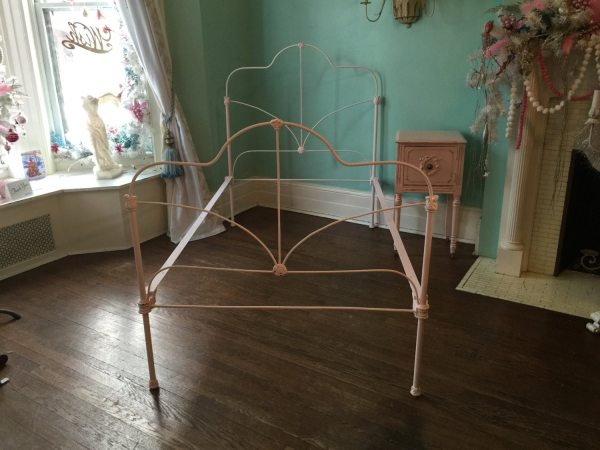Antique Iron Twin Bed Frame
