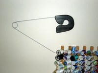 Giant Safety Pin wall decor for sewing rooms,laundry rooms ...