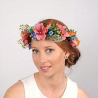 Boho Flower Crown, Garden Wedding Hair Piece, Melbourne ...