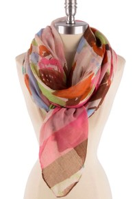 Colorful Wraps Shawls Scarf womens scarves Gift women