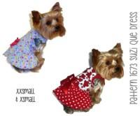 Suzi Que Dog Dress Pattern 1673 XXSmall & by SofiandFriends