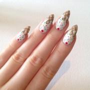 ice cream stiletto nails nail design