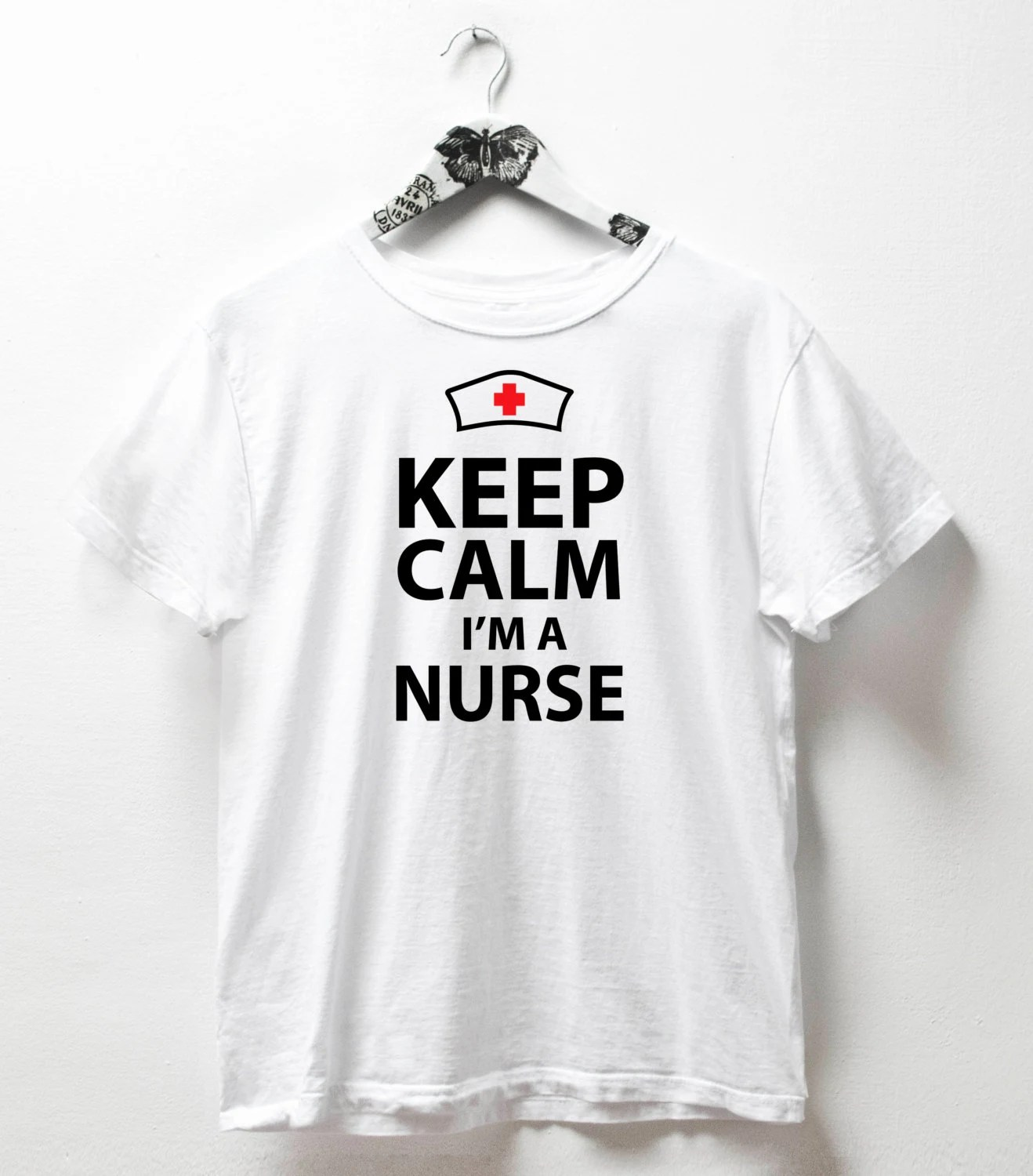 Keep Calm Im A Nurse Tshirt Nurse Pride Tshirt Gift For