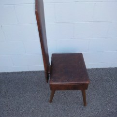 Mens Valet Chair Old High With Wheels Mad Men Era Butler Dressing For
