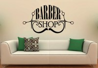 Barber Shop Wall Decal Vinyl Stickers Hairdressing Salon
