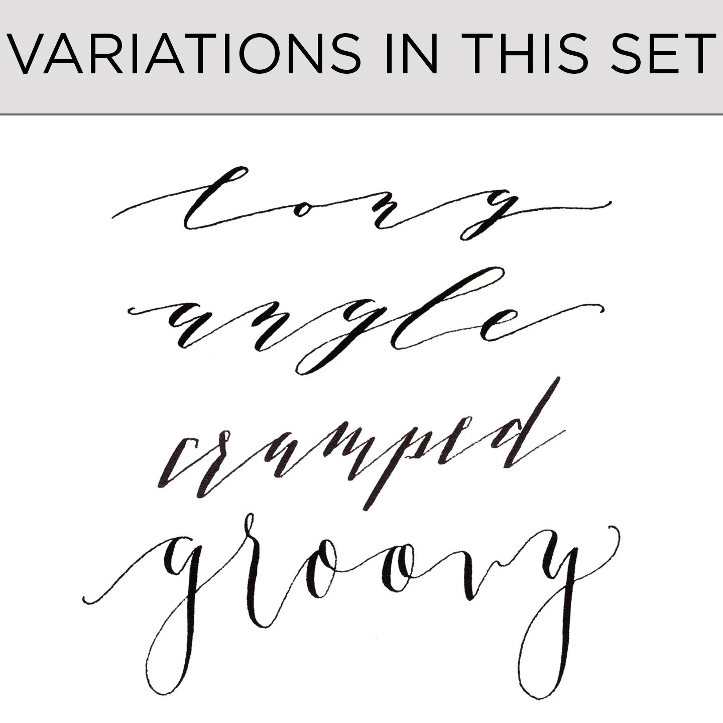 Add On To Kaitlin Style Calligraphy Worksheets Style Variations