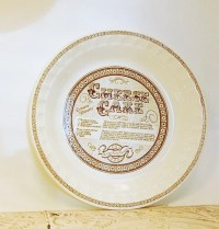 Cheesecake Pie Plate Royal China Jeannette Pie Plate