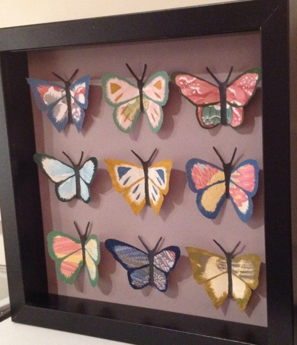 3d Butterfly Paper-art Display Entomology Lepidoptera