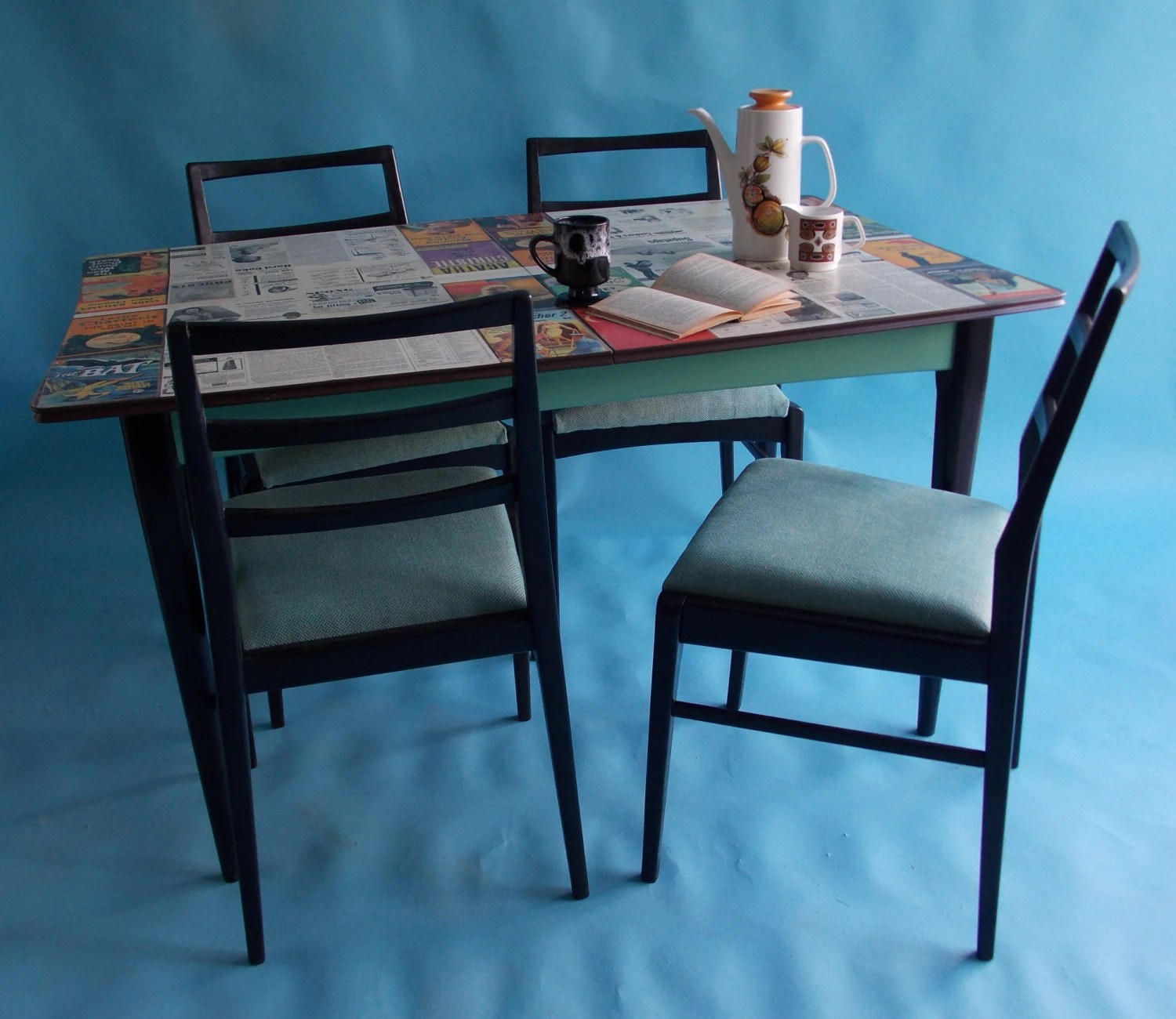 upcycled dining room chairs lifetime table and stunning 1960s modernist 4 with