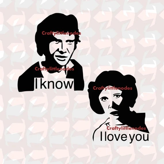 Download Items similar to I love you, I know SVG STUDIO Ai EPS ...
