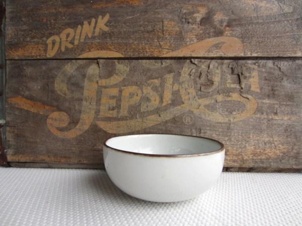 Vintage Dansk Pottery Brown Mist Niels Refsgaard Organic Salad