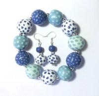 Kazuri Bangle and Kazuri Earrings Fair Trade Ceramic Jewelry